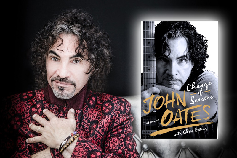 <h2><b>An Intimate Evening of Music & Conversation with JOHN OATES — Wed, April 19, 6 p.m.</b></h2>