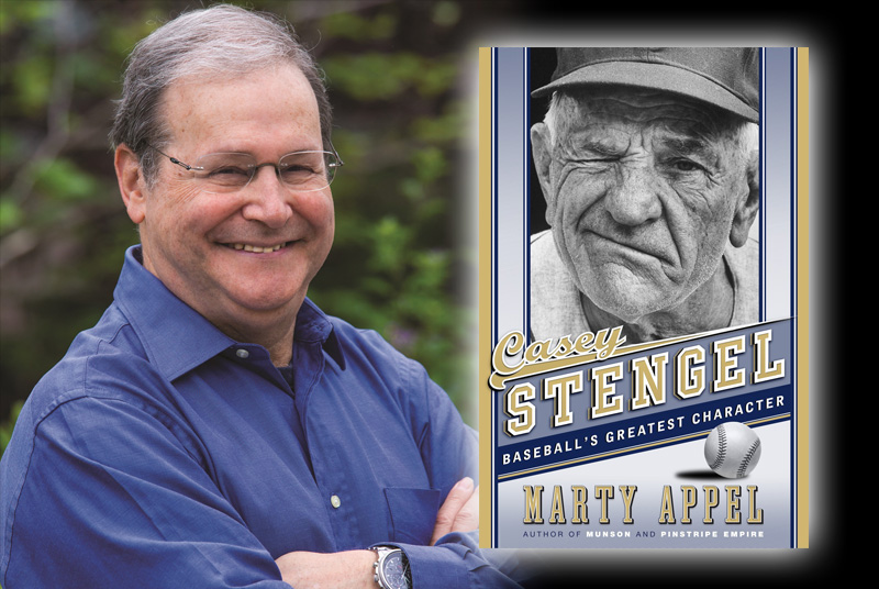 <br><h2><b>Live Interview Event with Author Marty Appel<br />Tue, May 23, 6 p.m.</b></h2><br>