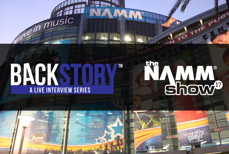 <b>BackStory Events Live from NAMM</b>